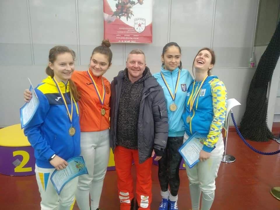 Поздравляем с Золотом и званием чемпионок Чемпионата Украины !