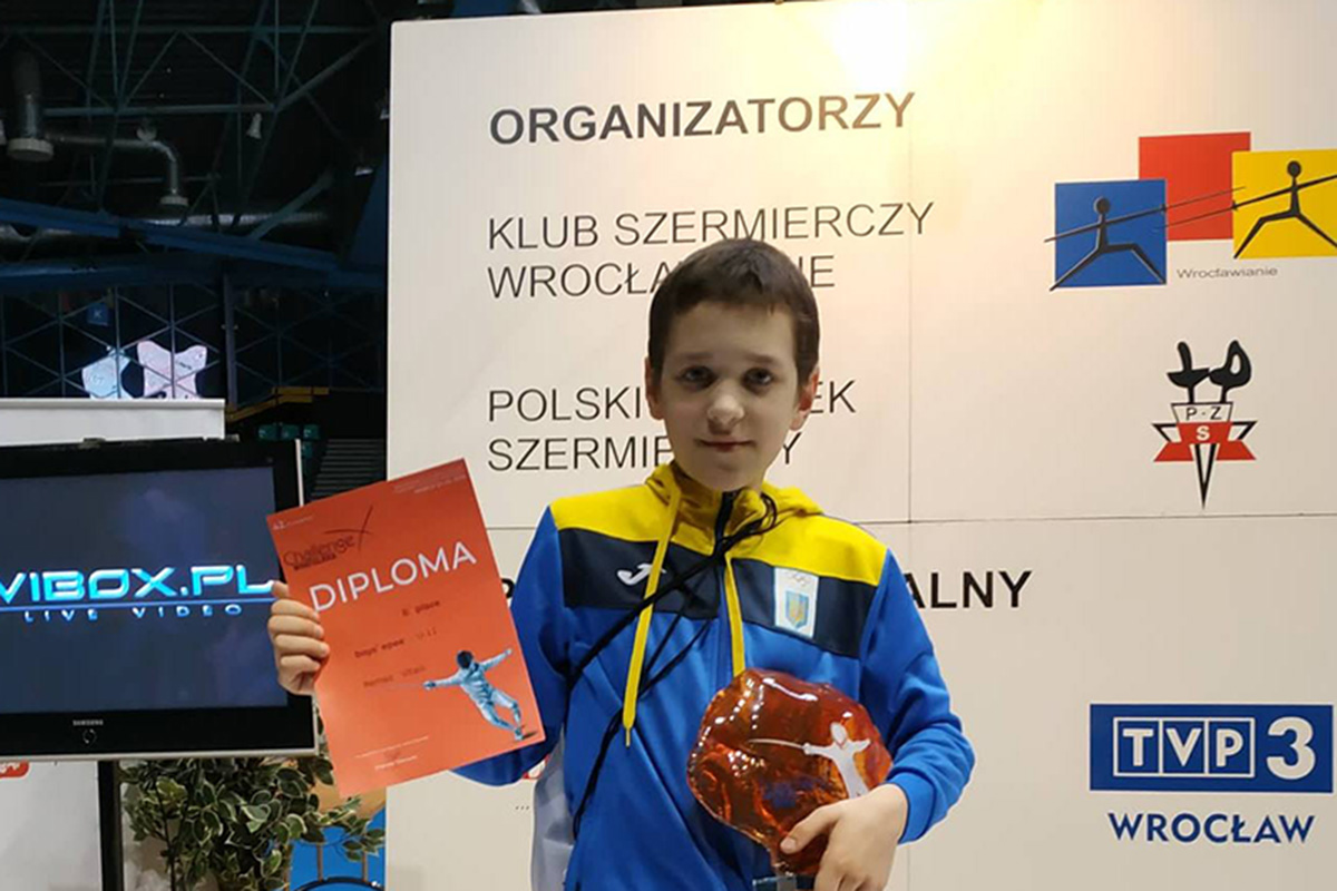 Поздравляем воспитанника ФК ВЕРШИНА  Виталия Ремеза с бронзовой медалью !